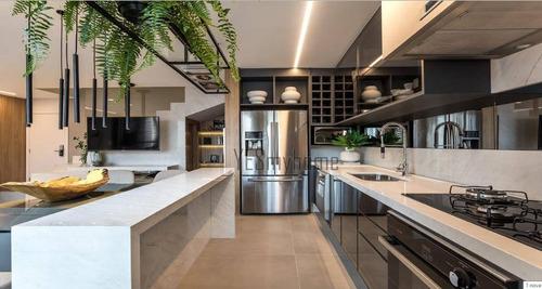 Cobertura Com 3 Dormitórios À Venda, 224 M² Por R$ 2.100.000,00 - Batel - Curitiba/pr - Co0307