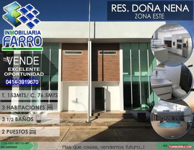 Venta De Town House En Juanico Ve01-0011sj-mf