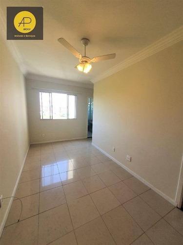 Apartamento Com 2 Dormitórios À Venda, 52 M² - Vila Mogilar - Mogi Das Cruzes/sp - Ap0331