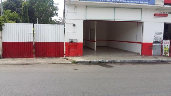 Rento Local Con Bodega En El Centro De Merida
