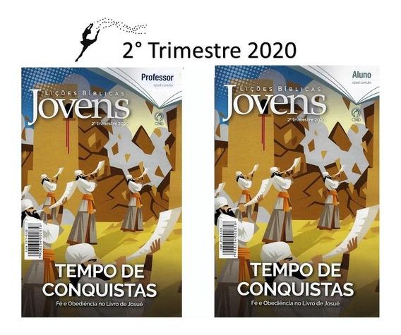 Kit Ebd 2° Trimestre 2020 Revista Adulto + Jovens