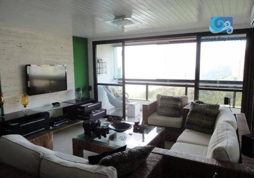Imagem 1 de 30 de Apartamento Com Vista Para O Mar  Praia Do Sorocotuba - Guarujá - Ap4625