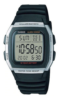 Reloj Casio Hombre Digital W-96h-1avdf Sumergible Alarma