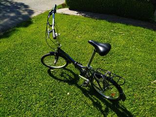 Bicicleta Plegable Aurorita Folding 7 Velocidades. Rodado 20