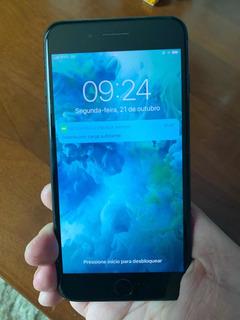 iPhone 7 Plus Black 256gb Seminovo Com Nota Fiscal