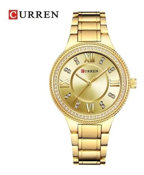 Relógio De Pulso Curem 9004 Feminino Adulto