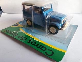 Toyota Bandeirante 1979 - Carros Do Brasil 2 - 1:43 Lacrado