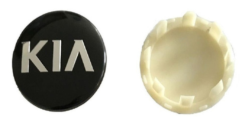 Imagen 1 de 10 de Tapa Logo Aro Kia Nuevas! En Remate!