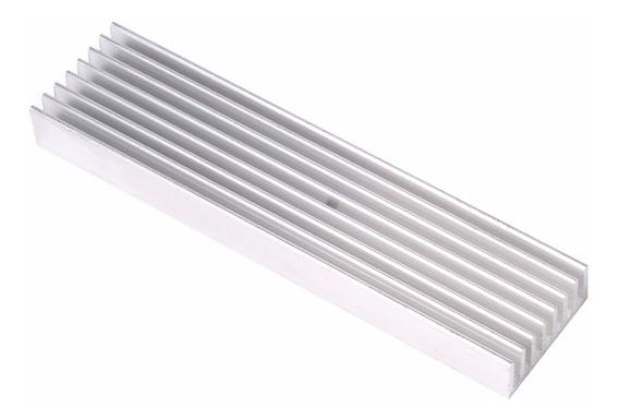 Dissipador De Calor Alumínio 100x25x10