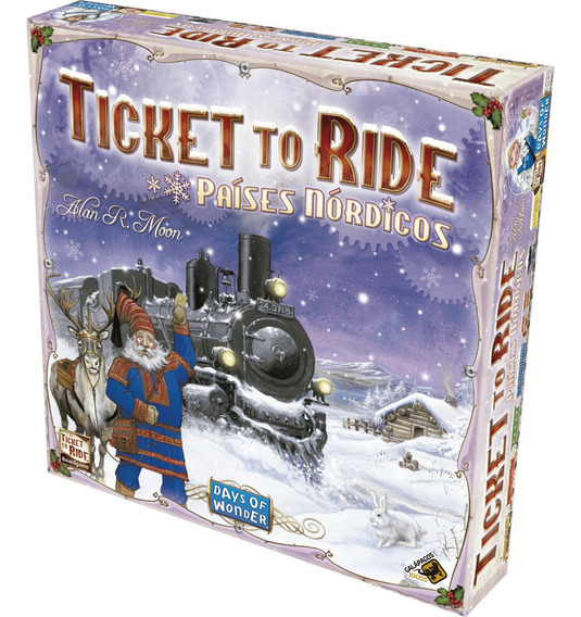 Jogo Ticket To Ride Paises Nordicos