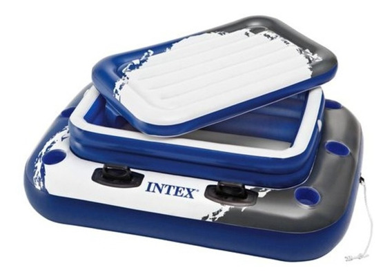 Hielera Inflable Para Piscina 72 Latas 122 X 97 Cm Intex