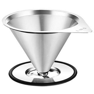 Vierta Sobre El Goteo Del Café Filter24 Cups Lhs Sin Papel