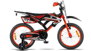 Bicicleta Aurora Cross Rx 16 Nene Estilo Moto - Envio Gratis