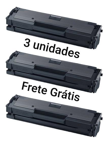 3 Toner Samsung D111 Mlt-d111s M2020 M2070 M2070w M2020w