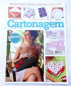 Revista Arte Fácil Especial Nº 6: Cartonagem - Kit Manicure