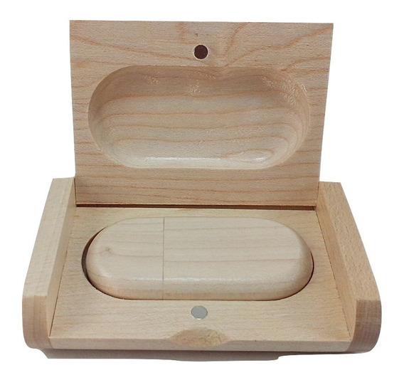 Pendrive 16gb Madeira Maple Personalizável Peça N° 45