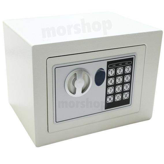 Caja Fuerte Digital Electronica De Seguridad Con Teclado + 2 Llaves