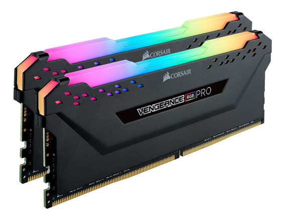Corsair Vengeance Rgb Pro 16gb (2x8gb) Ddr4 3200mhz C16 Led