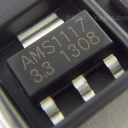 Regulador Tensao Ams1117 3v3 3.3v Ams 15 Peças