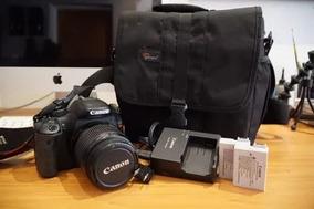 Câmera Canon T2i Lente 50mm + Lente 18-55mm Valor Negociável