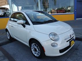 2014 Fiat 500 Pop 4 Cilindros 1.4 Lts. Color Blanco