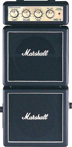 Mini Amplificador P/ Guitarra Marshall - Ms-4 Stack - Ap0057
