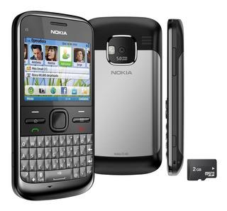 Nokia E5 E5-00 - Só Funciona Vivo - Wifi 5 Mp Raridade, Novo