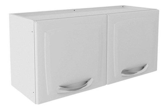 Armário De Cozinha Aereo Itatiaia Premium 2 Portas Branco - Ipg2-80