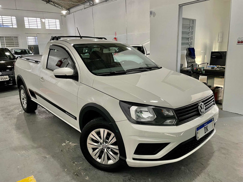 Imagem 1 de 6 de Volkswagen Saveiro 1.6 Trendline Cab. Simples Total Flex 2p