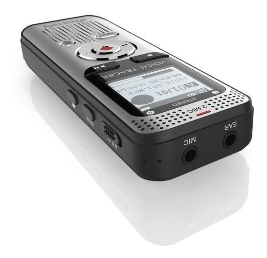 Grabadora De Voz Digital 4gb Philips Display Fm 320kbps Mp3