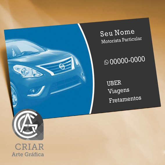Arte Cartão De Visita Motorista De Aplicativo Em Corel Draw + 10 Bônus Incríveis - Promoção Relâmpago! Clique E Confira!