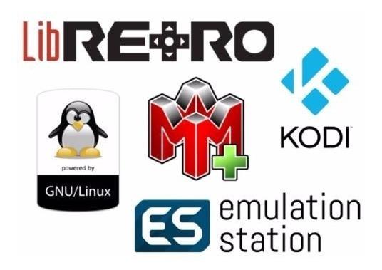 Microsd 64gb Con Recalbox6 12000 Rom Y Kodi P Raspberry Pi3