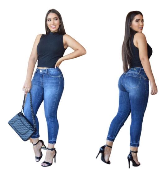 Linda Calça Cropped Badalo Jeans Original
