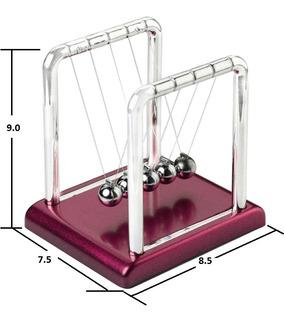 Pendulo Newton Mini Antiestres Kinetico Oficina Mod.1-3