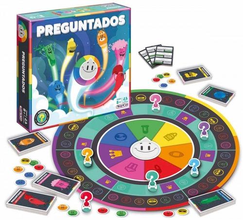Juego De Mesa Preguntados Pop Nuevo Toyco 16004 (5504)