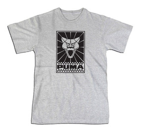 Camiseta Carro Puma 100% Algodão Silk Screen