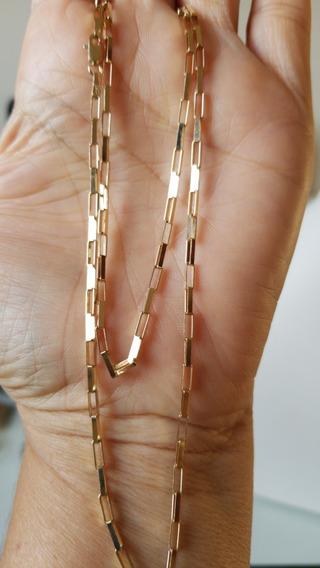 Corrente 60cm Em Ouro Amarelo 18k750