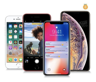 iPhone 6 6s 7 8 Plus X Xs 16 32 64 128 256 G A R A N T I A .