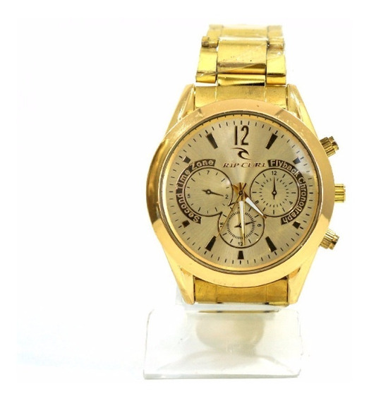Relógio Rip Curl Dourado