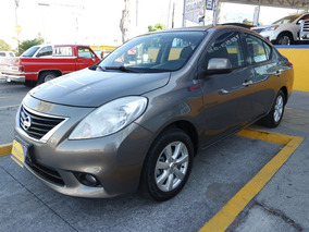 2012 Nissan Versa Advance 4 Cil Color Brownish