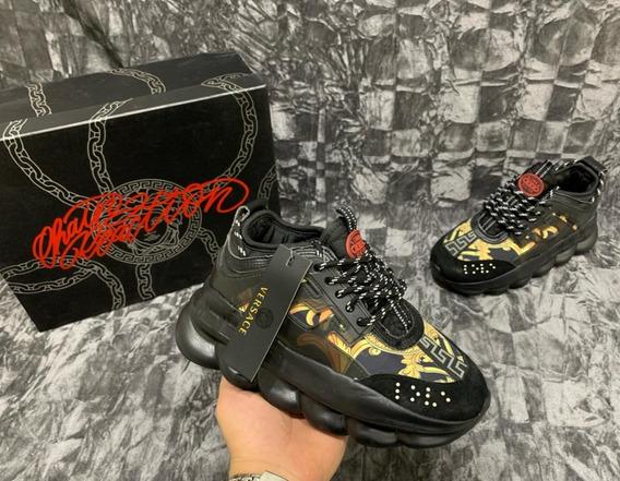 Zapatillas Versace Para Hombre Y Mujer