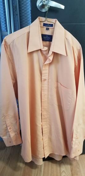 Camisa Para Caballero Bruno Corza Color Salmon