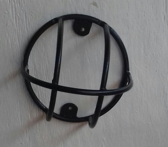 Grade De Protecao De Camera Dome Zincada Simples 10 Un