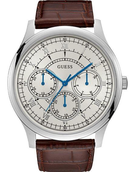 Relógio Masculino Guess Pulseira Couro 92724g0gdnc2