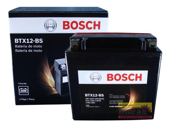 Bateria Moto Bosch Ytx14-bs 12ah 12v Bmw F800 Comet Gt 250 R