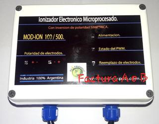 Ionizador De Piscinas 60/100m3 H60 Gtia 2 Años Factura A