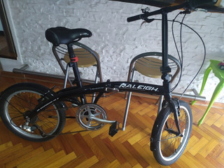 Bicicleta Plegable Raleigh Curve ( Sin Uso)