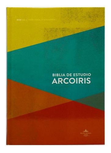 Imagen 1 de 4 de Biblia De Estudio Arcoiris Rvr1960 Tapa Dura