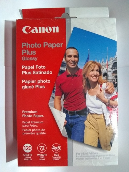 Papel Fotográfico Canon 10 X 15 Cm 120 Unidades