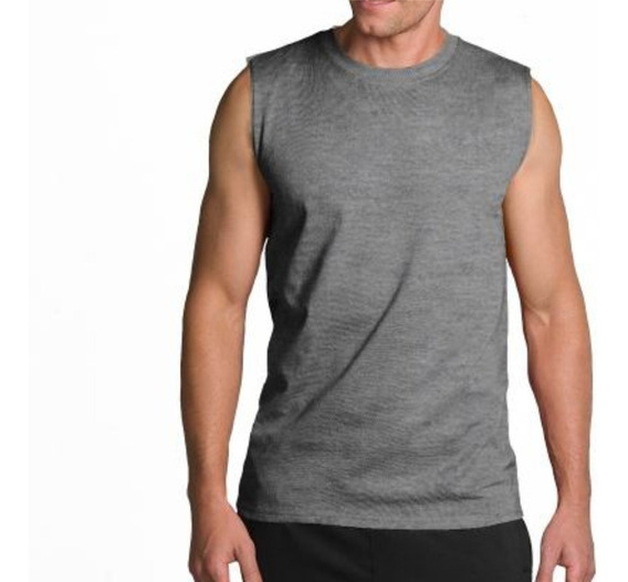 Camiseta Playera Sin Manga S A Xxl Hombre
